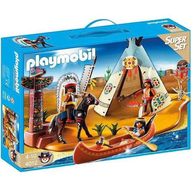 پلی موبیل کمپ سرخپوستی Playmobil اسباب بازی کودک بازی مهدکودک 4