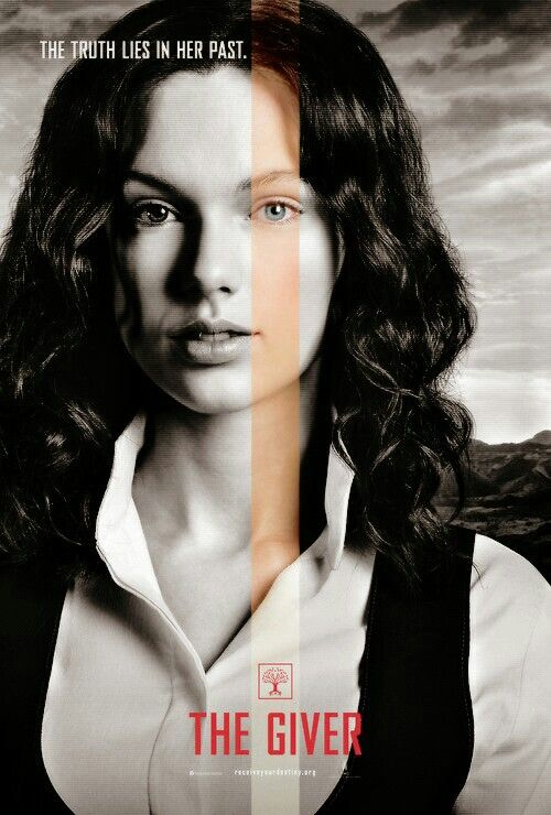 Taylor Swift for The Giver.