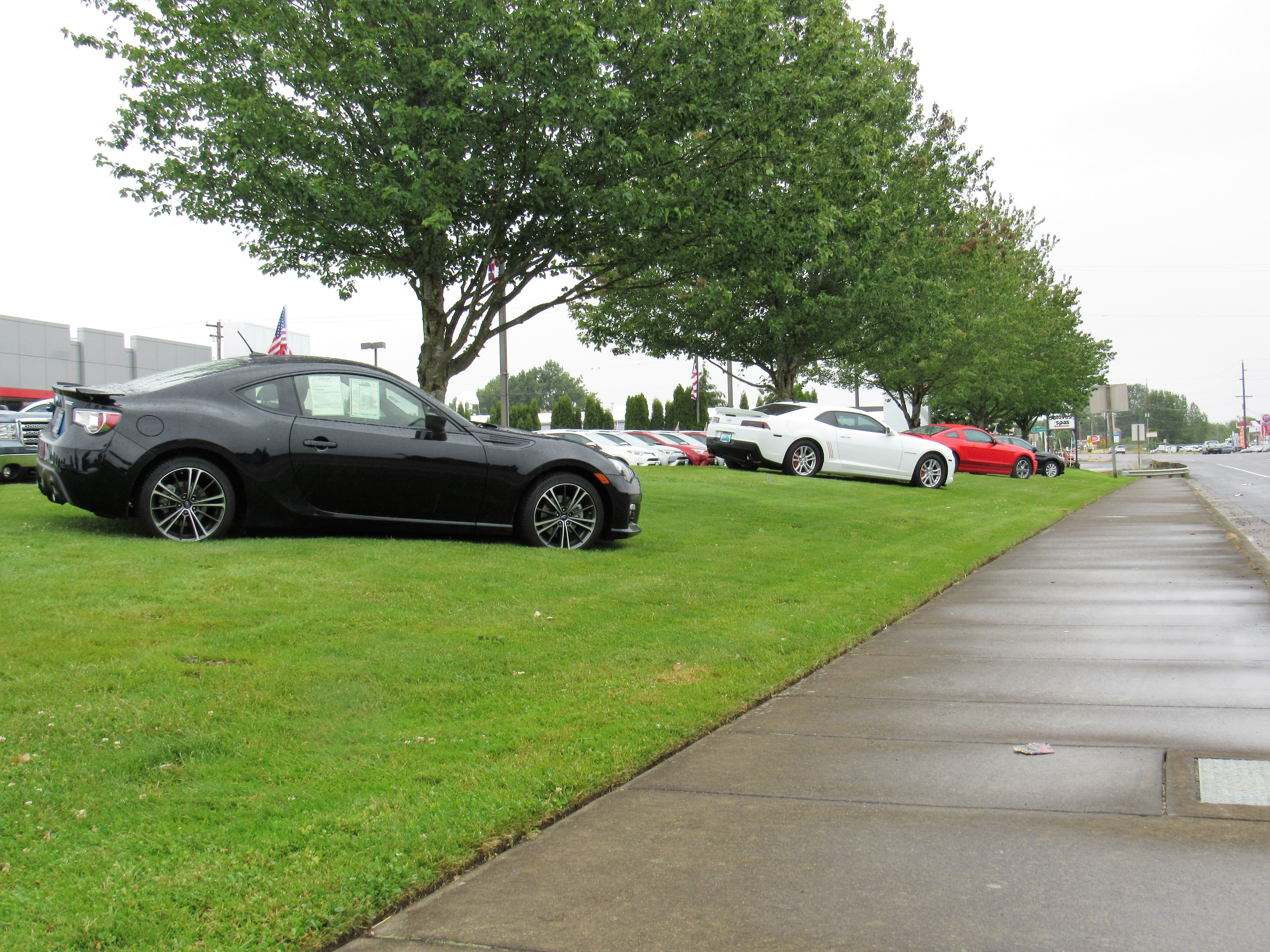 Some of the pre-owned cars on the lawn, drive by and take a look  or call for details #call #preowned #cars #vehicle