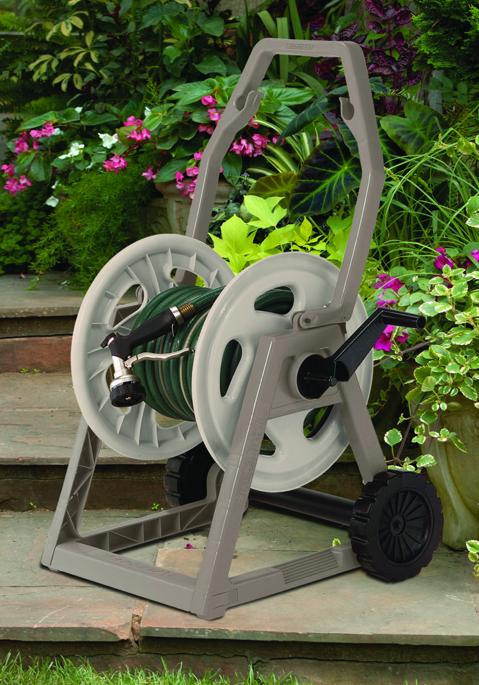 Put This USA Made 225u0027 Hose Reel In Your Garden! ...