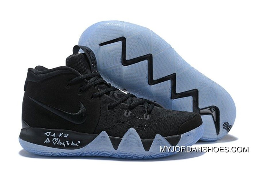 Nike Kyrie 4 Black Suede Basketball Shoes New Release, Price: $88.56 -  Jordan Shoes,Air Jordan,Air Jordan Shoes