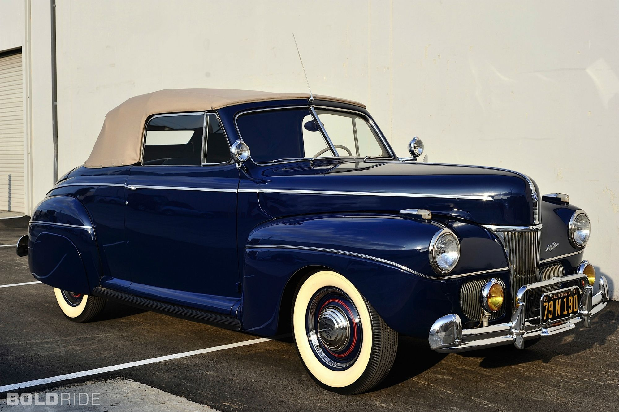 1941 ford super deluxe convertible coupe love the shade of blue