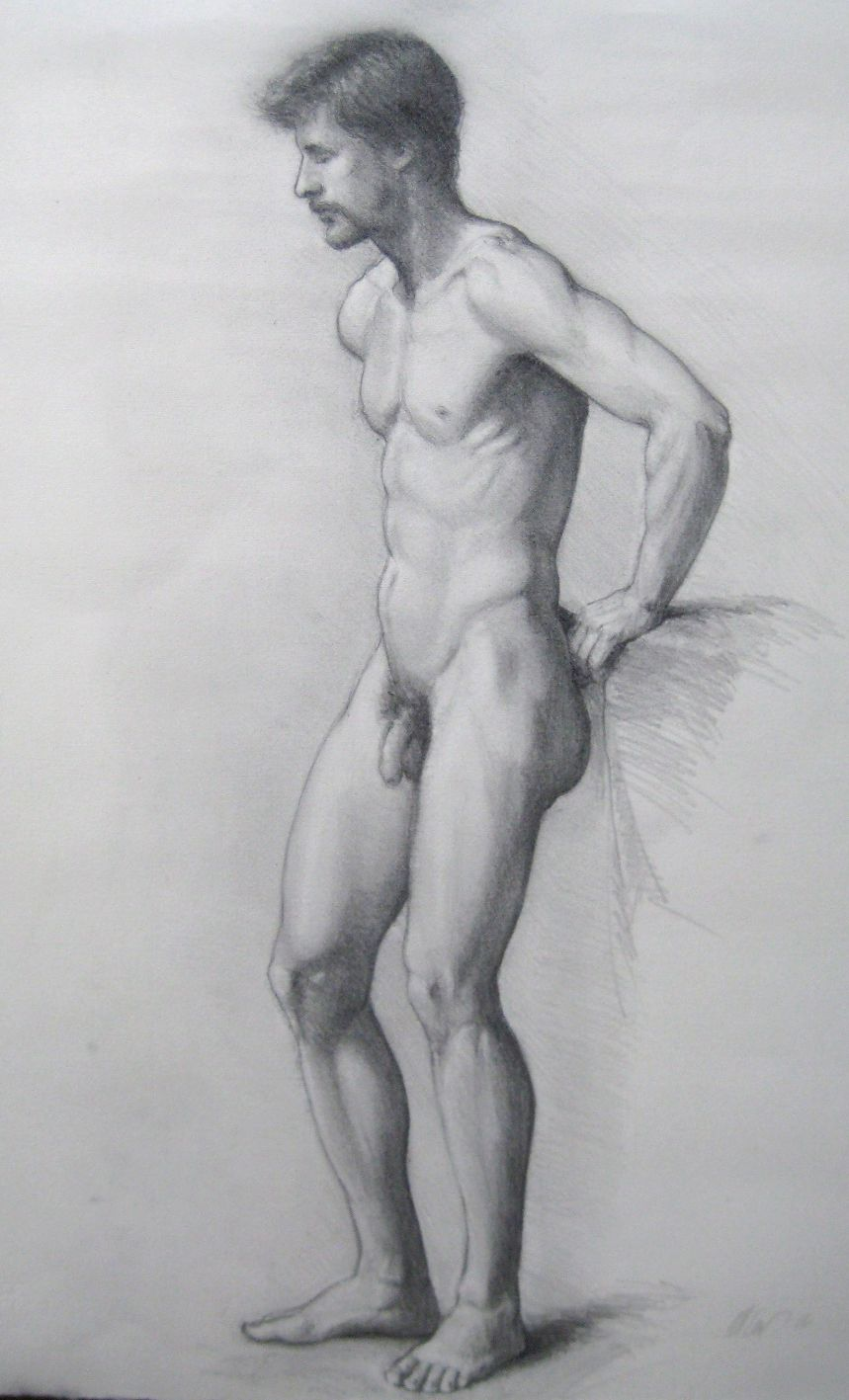 Hand drawing of naked man ireland naked gifs
