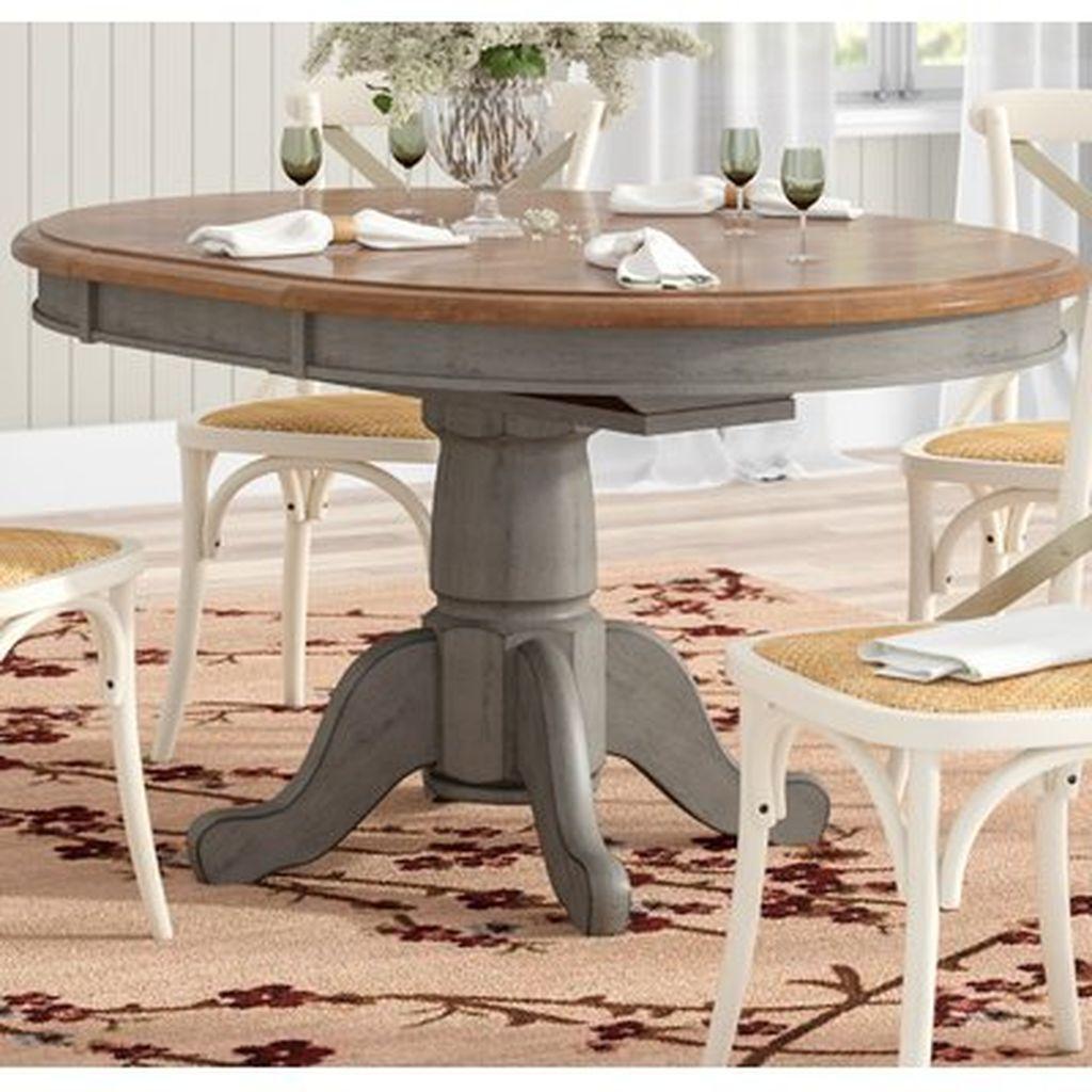 46 perfect farmhouse dining table design ideas homyhomee