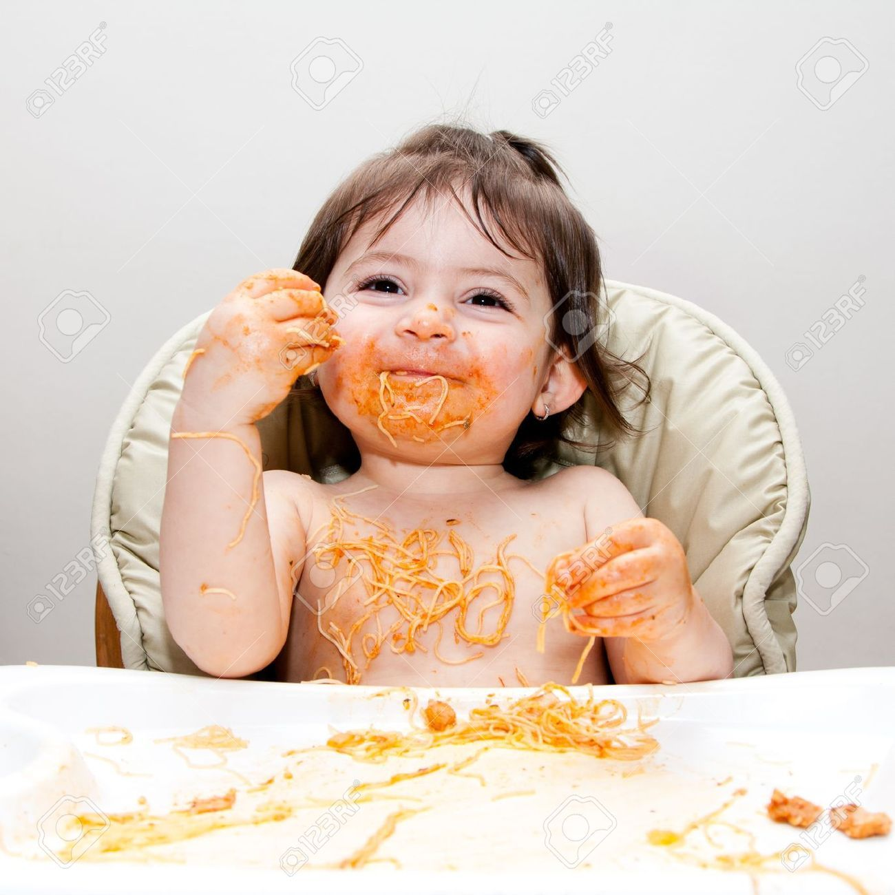 Happiness Is Messy Baby How To Eat Better Baby