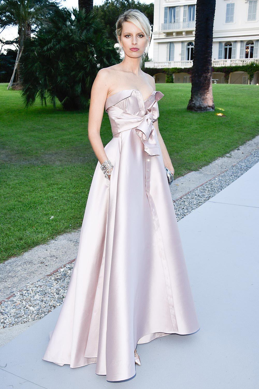 Karolina Kurkova in Alexis Mabille Couture - amfAR Gala at Cannes Film Festival 2015 | Harper's Bazaar