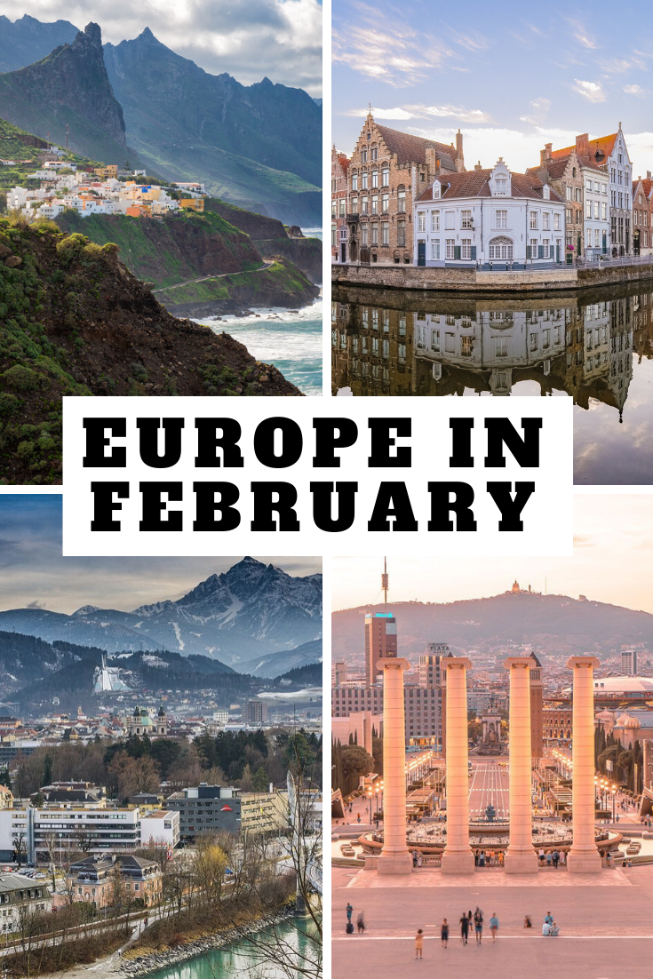 The 13 BEST Places to Vist in Europe in February & Winter | Cool places to  visit, Best places to travel, Vacation trips