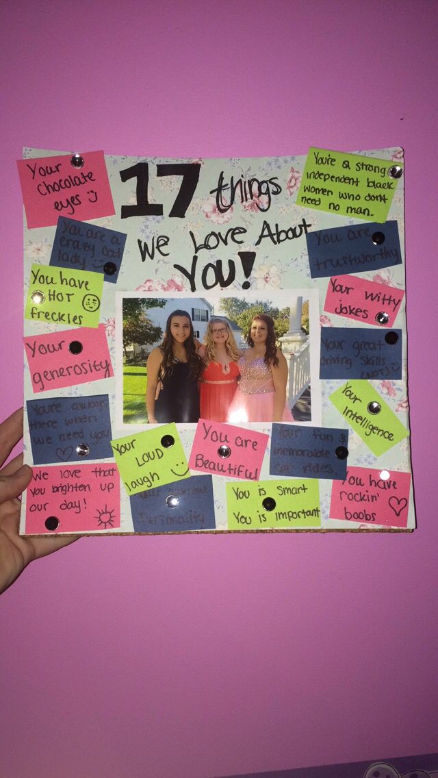 Ideas For Sister Turning 17 Birthday