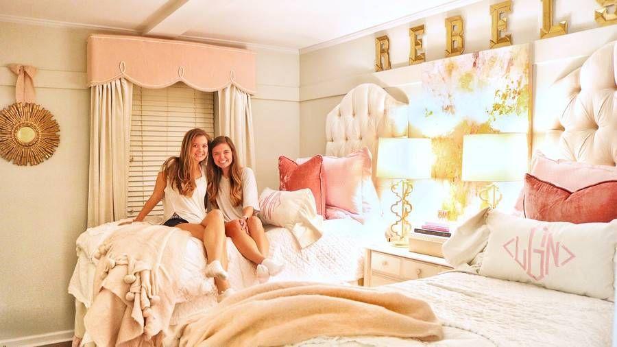 Ebony teens in there dorm room
