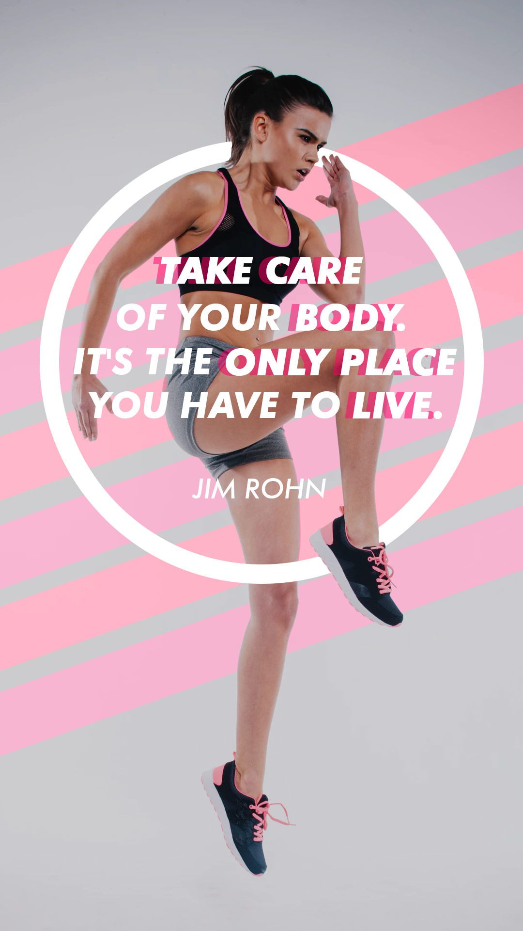 """Take care of your body, it's the only place you have to live."" -Jim Rohn #fitness #motivationalquot..."