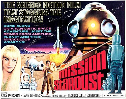 'Mission Stardust - 1968' - Thrilling A4 Glossy Print Taken from A Vintage Sci-Fi Movie Poster by Design Artist http://www.amazon.co.uk/dp/B00UWBO39G/ref=cm_sw_r_pi_dp_Lv1jvb1N1EZDG