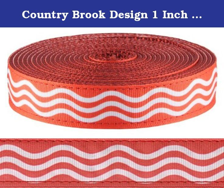 100 Yards Country Brook Design® 1 Inch Navy Blue Heavy Polypro Webbing