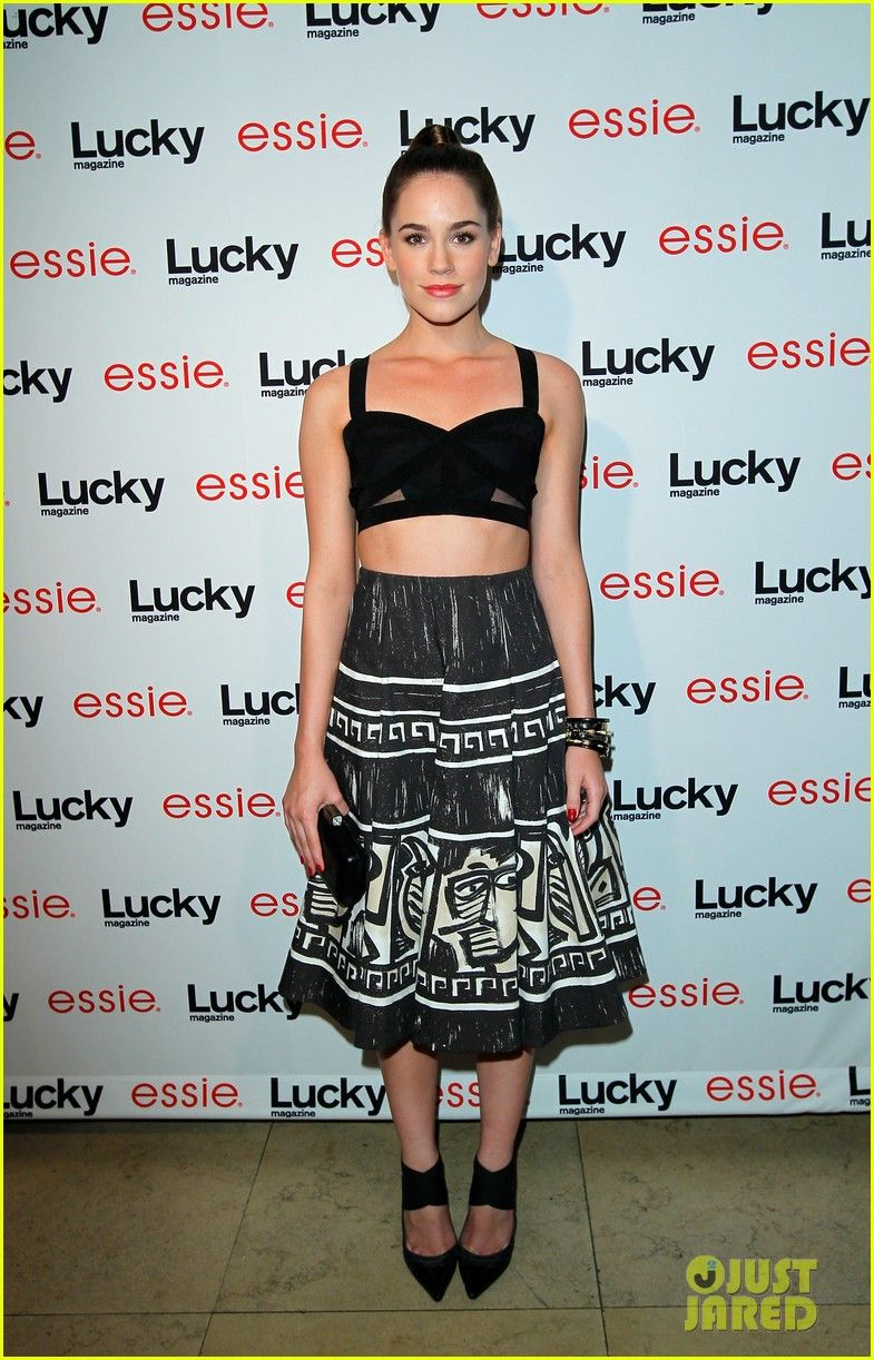 Emily VanCamp: 'Lucky' Party with 'Revenge' Cast!