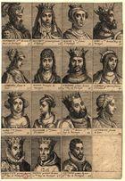 [Portraits au vray de tous les roys et reines de Portugal...]: Alphonse 5me du nom 12me Roy de Portugal... Antoine premier du nom 18me Roy de Portugal, 1630] - Biblioteca Nacional Digital