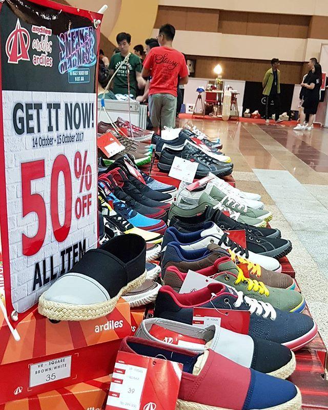 Dapatkan Sneakers Limited Edition Dari Ardiles 50 Off All Item