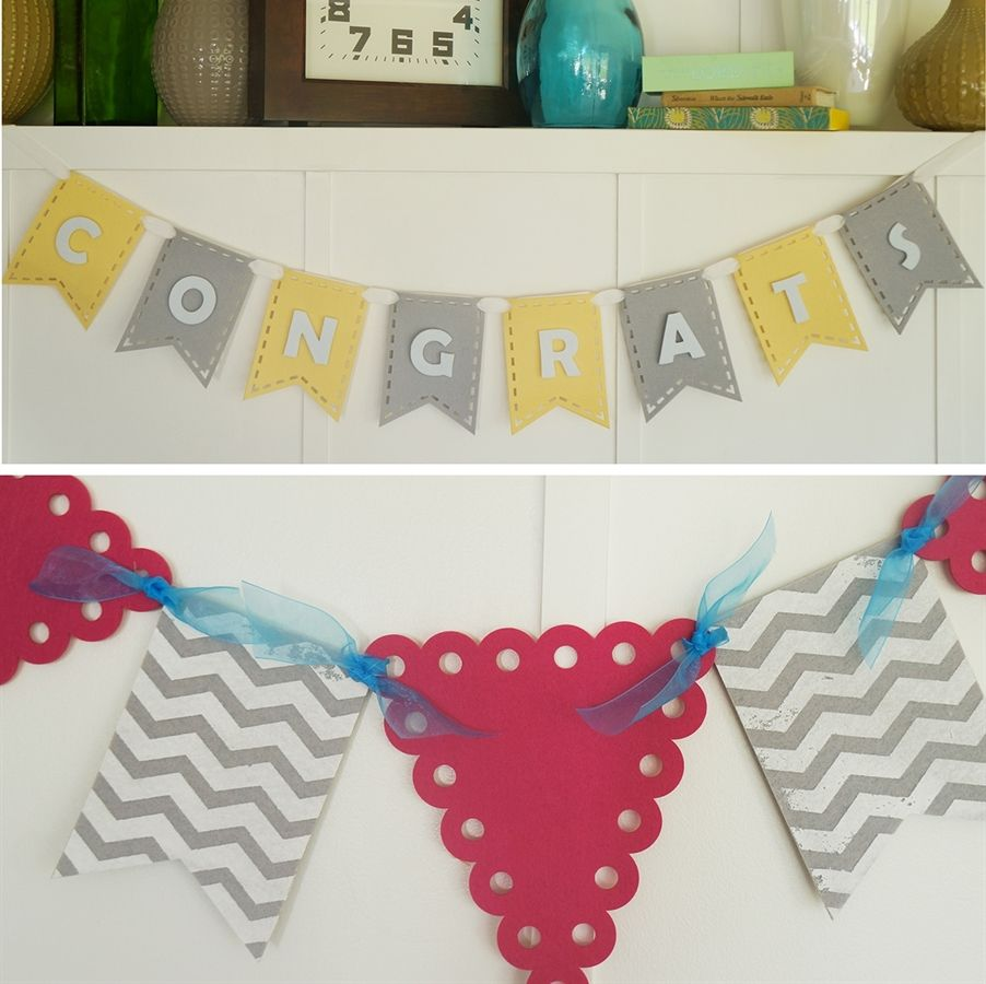 Build Your Own Felt Banner Or Bunting Very Jane Easy Diy Felt
