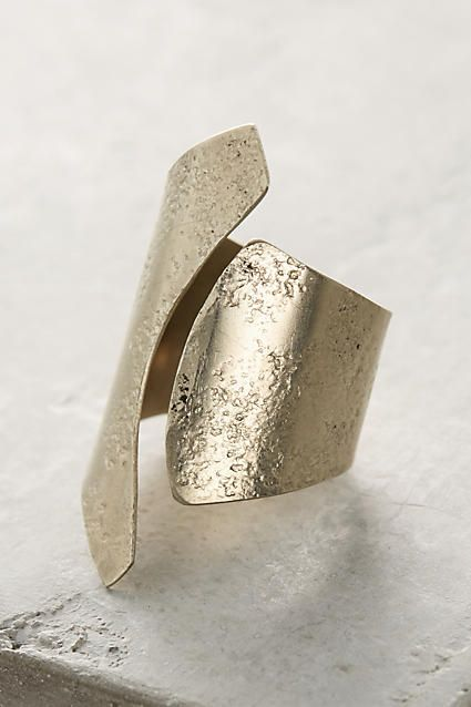 First Wave Ring - anthropologie.com