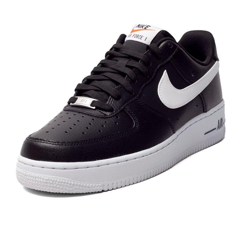 Australia Buy Nike Air Force 1 488298-092 Black/Black/White Online