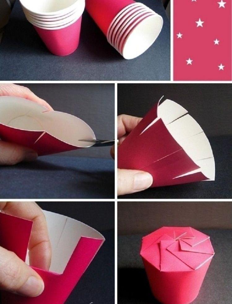 schachteln basteln f r kleine geschenke vorlagen und ideen pinterest paper. Black Bedroom Furniture Sets. Home Design Ideas