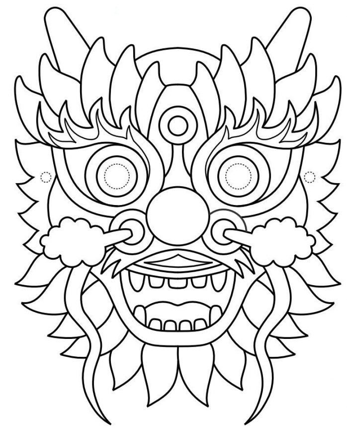 Pin By Bevish Designs On Dragons Dragon Mask Dragon Crafts