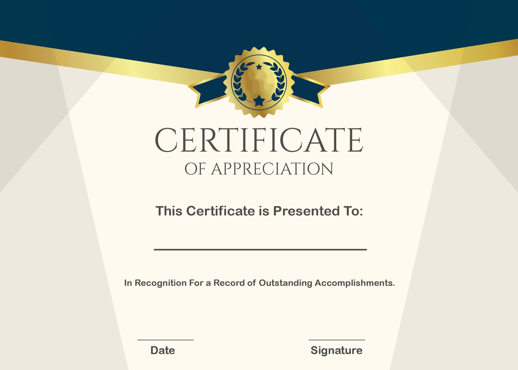 The Stunning Sample Certificate Of Appreciation Form Template Inte Certificate Of Appreciation Certificate Templates Photography Gift Certificate Template Google docs certificate of appreciation