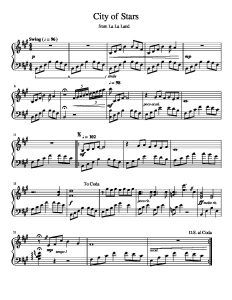 Download Now City Of Stars La La Land Free Piano Learn How To