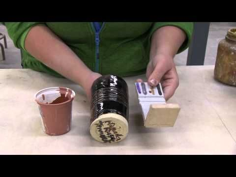 Pottery Video: Color Blend with Stains, Oxides and Opacifiers | JOHN BRITT - YouTube