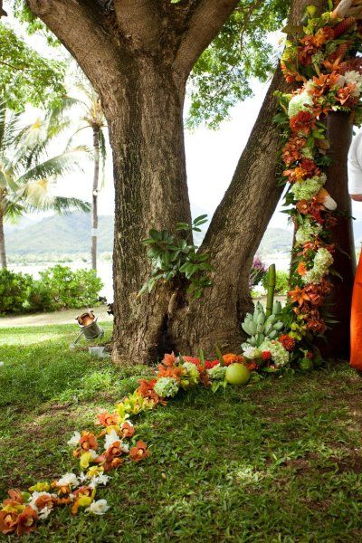 #flowers #garland! What a great idea!