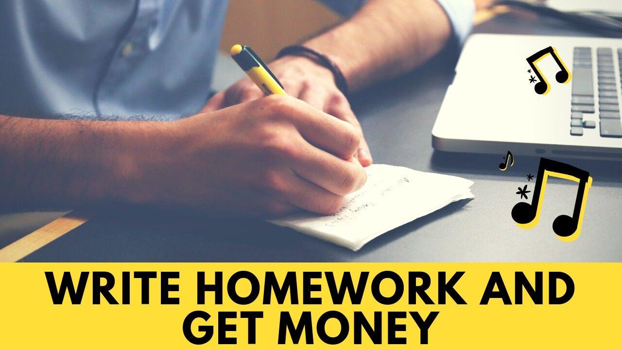Homework help earn money