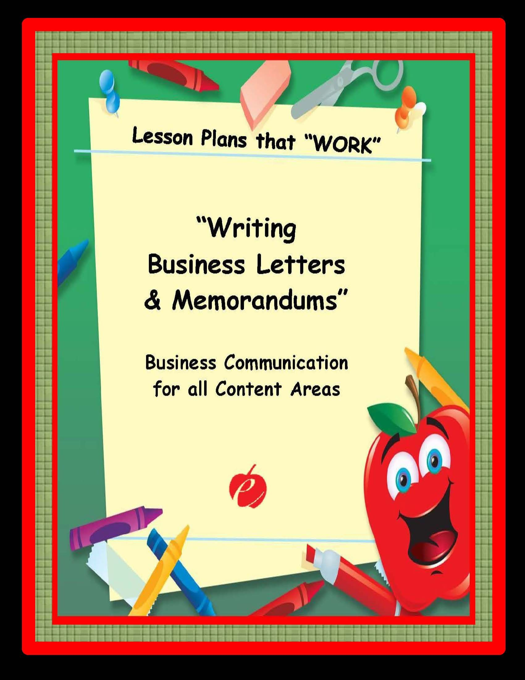 This lesson plan introduces business letters (external communication which means writing documents that are usually mailed at the post office) and ...