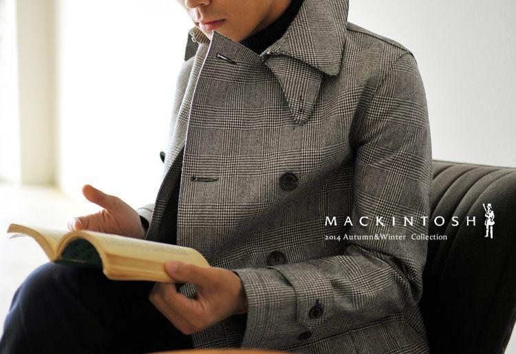 croukalr   Rakuten Global Market  MACKINTOSH Mackintosh MONKTON   Moncton  Glen check double coat (S, M, L) 0c8f25faff1