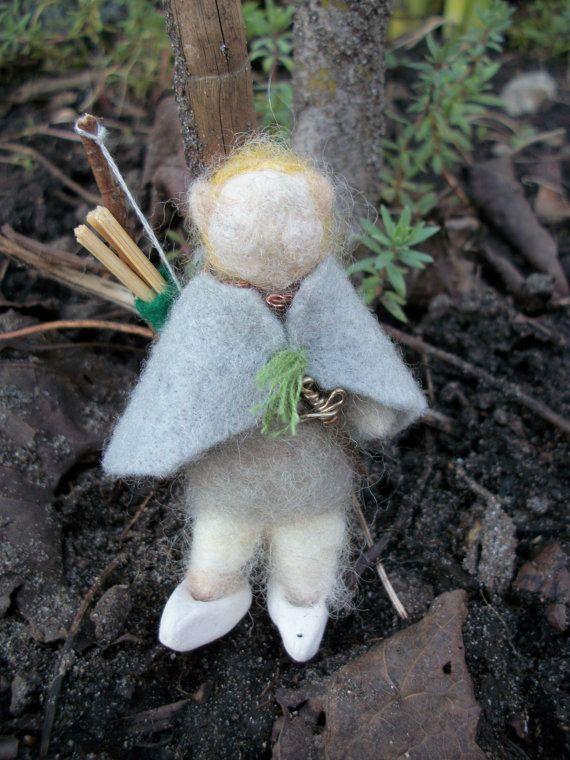 Legolas Felt Figure, Lord of the Rings Felt Doll, Needle ...