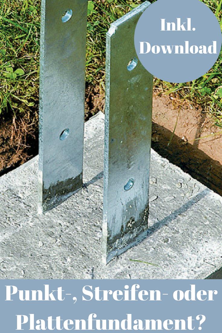 Grundwissen Fundamente Selbst De Fundament Gartenhaus Fundament Sichtschutz Im Freien