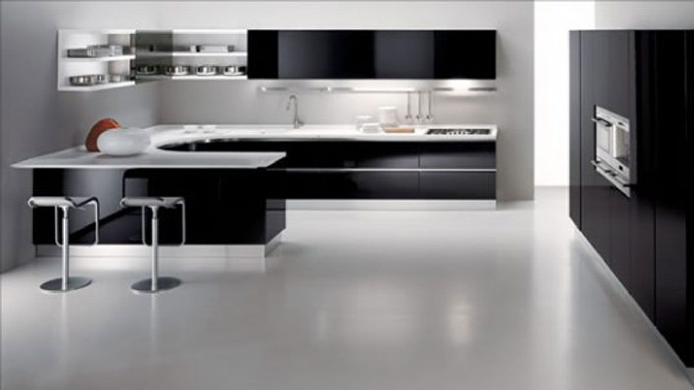 ways to achieve the perfect black and white kitchen | minimalist