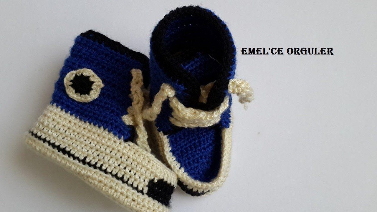 İncili Sandalet Patik Modeli Yapımı Videolu Anlatımlı