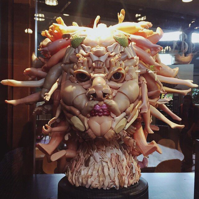 It's Friday and happy hour is over... #turntostone #medusa
