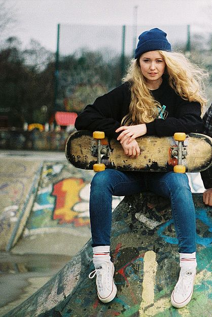 yeah girl, be a grown-up skater.  I support it.  Way cooler than me.
