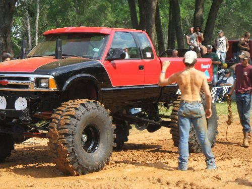 Everything About This Picture Jacked Up Trucks Country Boys