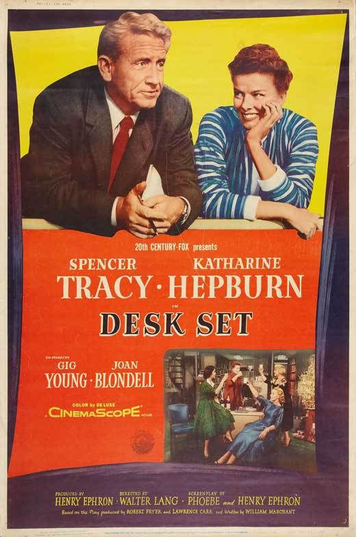 Desk Set 1957 Desk Set Movie Posters Classic Films