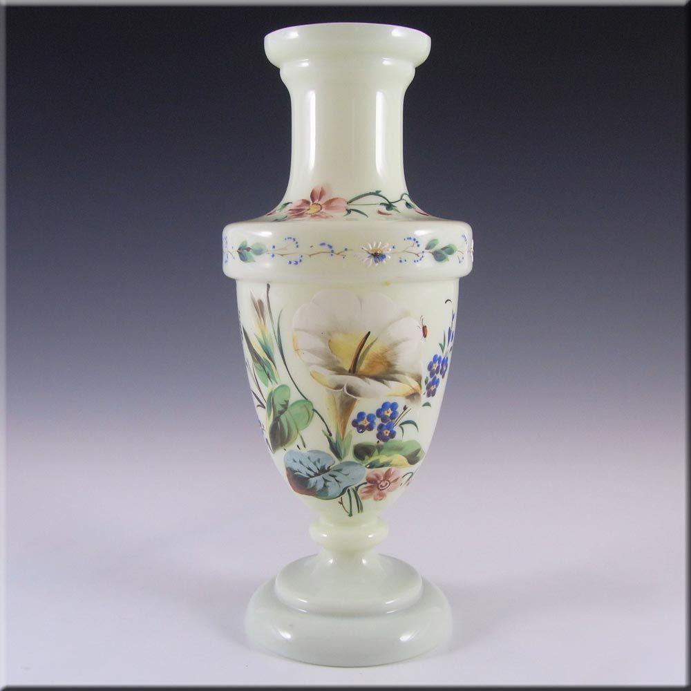 Victorian bohemian enamelled uranium glass vase 3500 victorian bohemian enamelled uranium glass vase 2999 reviewsmspy
