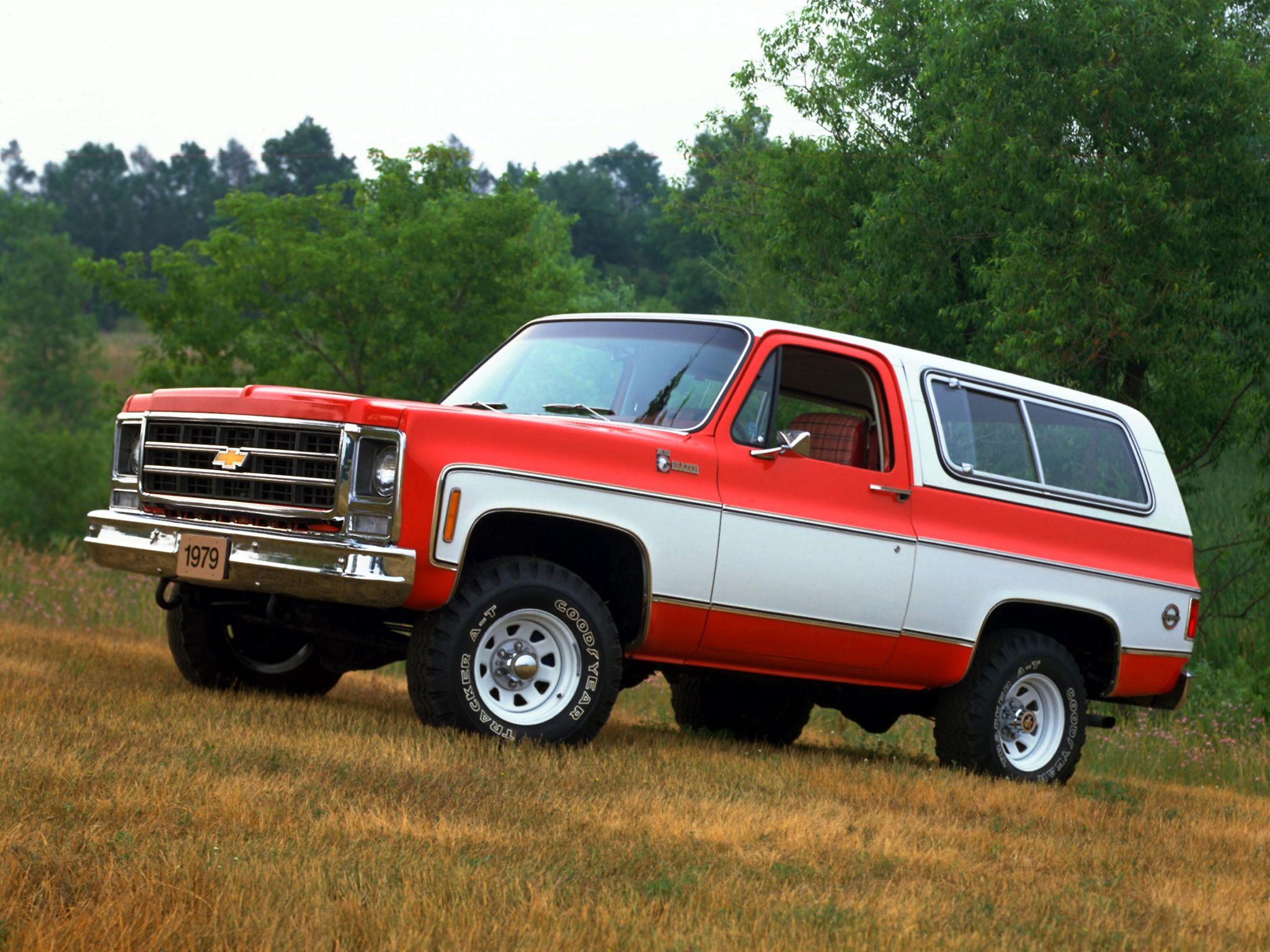 K5 Chevy Blazer 1979 Chevrolet K5 Blazer 1978 79 Coches Y