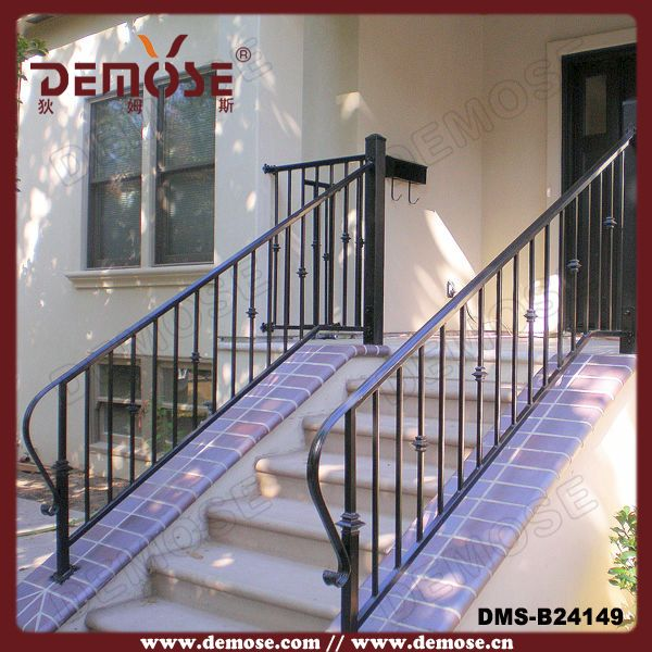 Best Hot Selling Decorative Wrought Iron Indoor Stair Railings 400 x 300