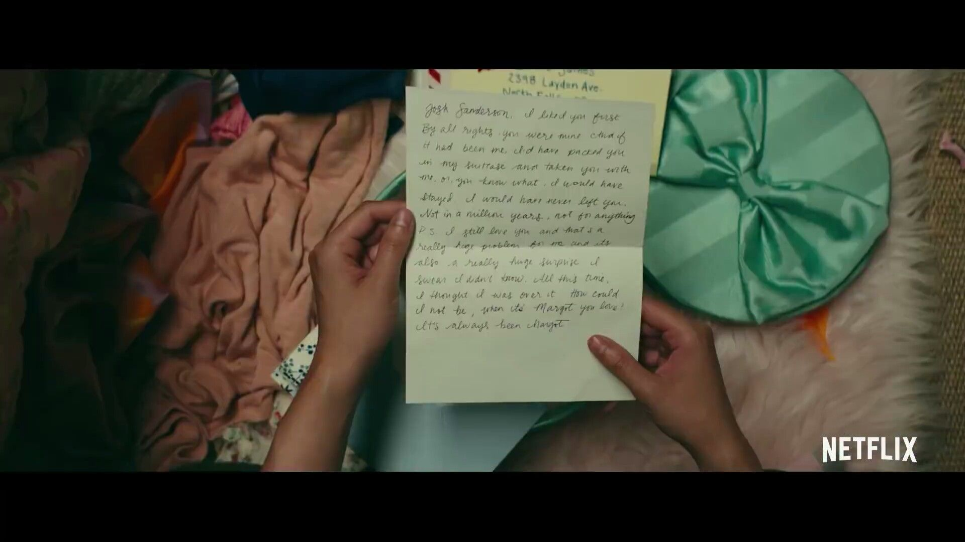 To All The Boys I Ve Loved Before Movie Josh S Letter With