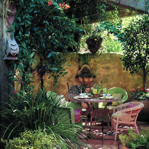 21 idea-filled outdoor dining rooms   Hillside dining hideaway   Sunset.com