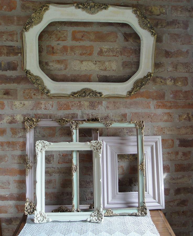 Espejos antiguos reciclados buscar con google ideas originales - Marcos espejos antiguos ...