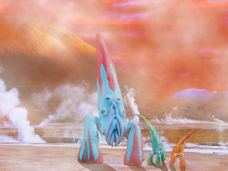 What Will Extraterrestrial Life Look Like?   Alien concept ...