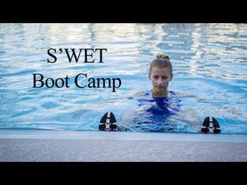 Swet Boot Camp Pool Workout Water Aerobics Aqua Fitness