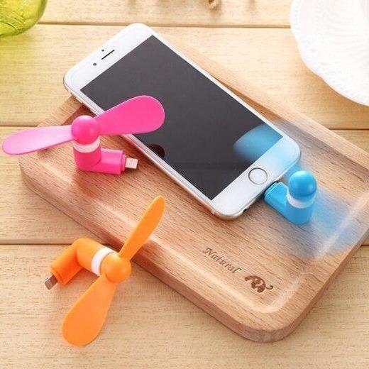 Flexible Phone Mini Fan - TypeC Fan
