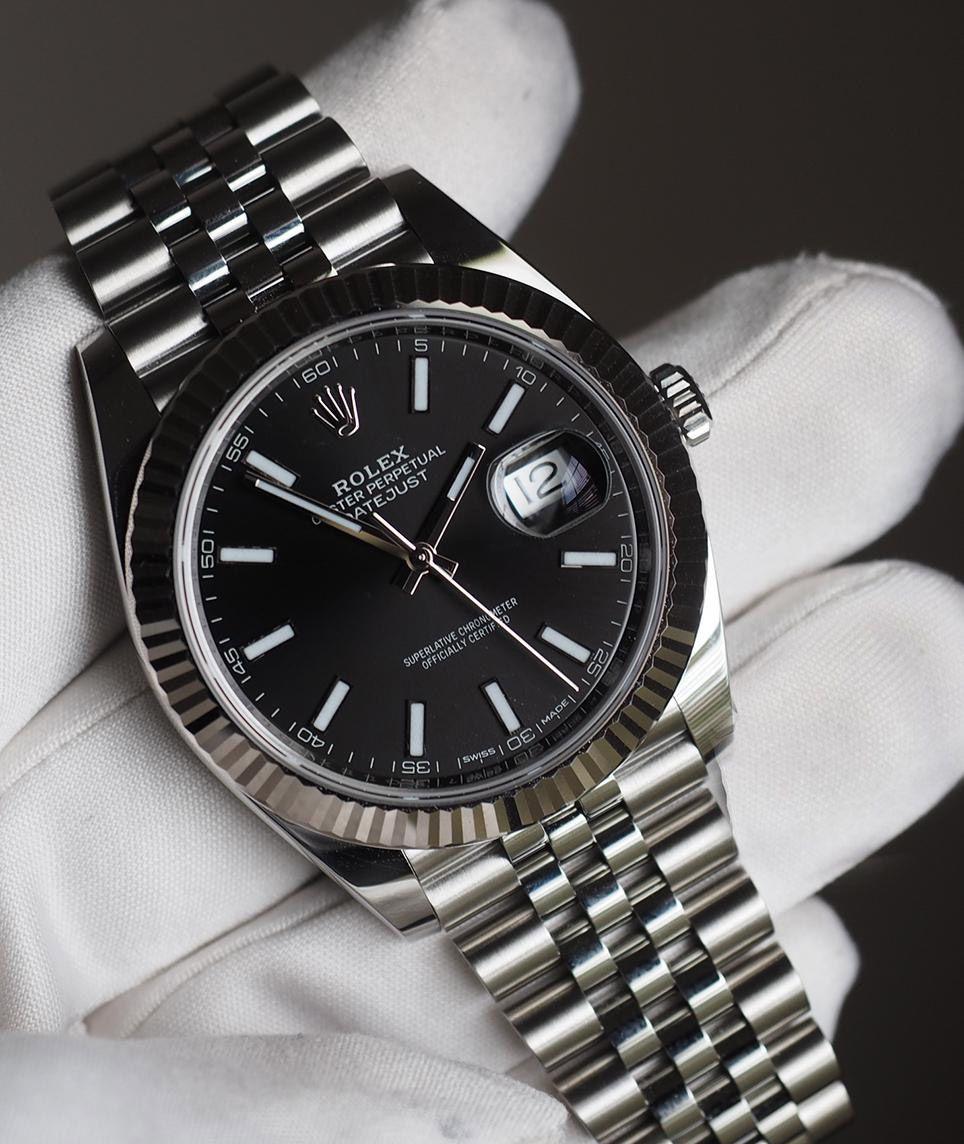 Rolex Datejust 41 Black Dial Men S Watch 126334 In 2020 Rolex Watches For Men Rolex Datejust Rolex Watches