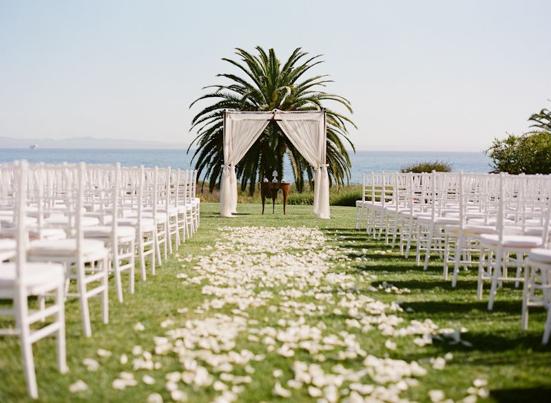 Santa Barbara Wedding At Bacara Resort Shannon Jeff Wine Country Weddings Events